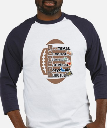 Football Father/Dad Baseball-styled Jersey