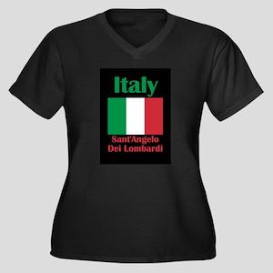 Sant'Angelo Dei Lombardi Italy Plus Size T-Shirt