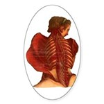 Fallen Angels Sticker (Oval)