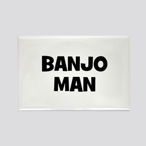 Banjo man Rectangle Magnet