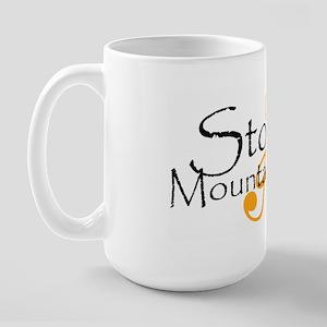 Stone Mountain Brass Large Mug
