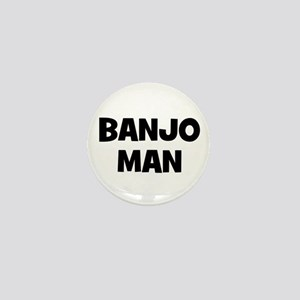 Banjo man Mini Button