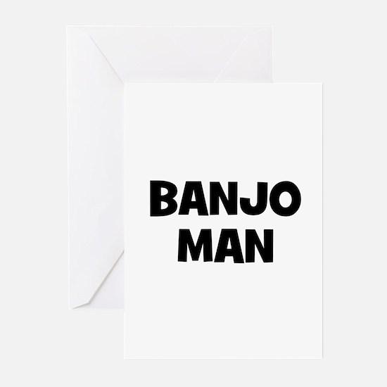 Banjo man Greeting Cards (Pk of 10)