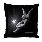 Angel & Dove Throw Pillow