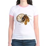 Hermit Crab (Front) Jr. Ringer T-Shirt