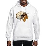 Hermit Crab (Front) Hooded Sweatshirt