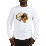 Hermit Crab (Front) Long Sleeve T-Shirt