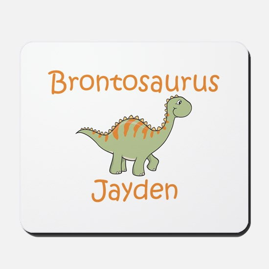 Brontosaurus Jayden Mousepad