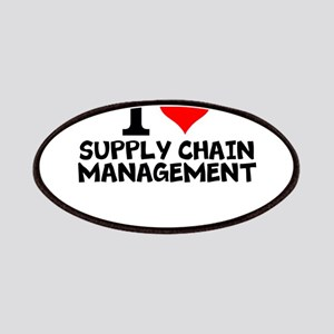 I Love Supply Chain Management Patch