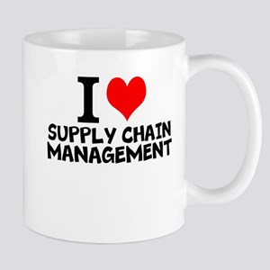 I Love Supply Chain Management Mugs