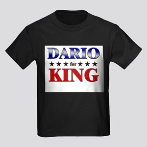 DARIO for king Kids Dark T-Shirt