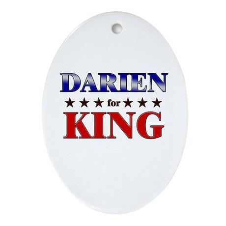DARIEN for king Oval Ornament