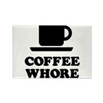 Coffee Whore Rectangle Magnet (10 pack)