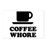 Coffee Whore Postcards (Package of 8)