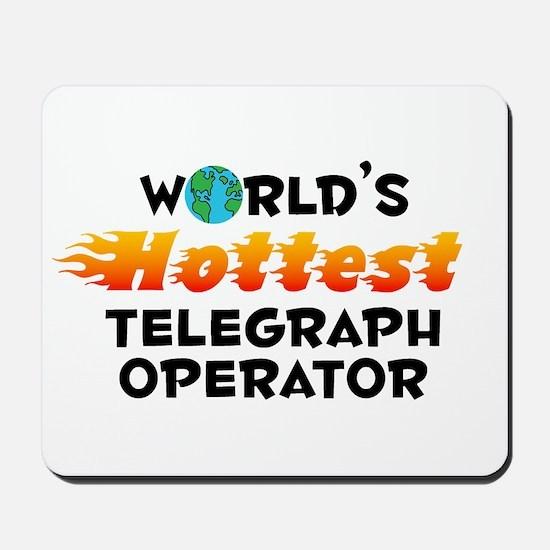World's Hottest Teleg.. (C) Mousepad