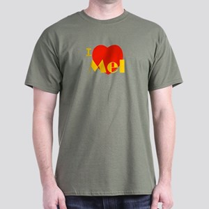 I Love Mel Dark T-Shirt