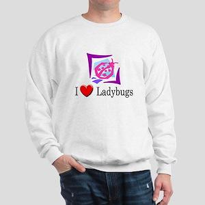 I Love Ladybugs Sweatshirt