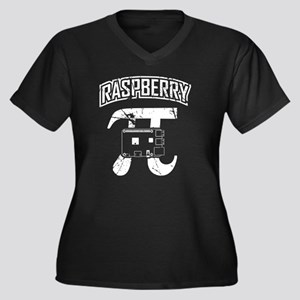 Raspberry Pi Vintage Plus Size T-Shirt