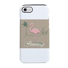 Funny Pink Flamingo Custom iPhone 8/7 Tough Case