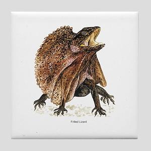 Frilled Lizard Tile Coaster