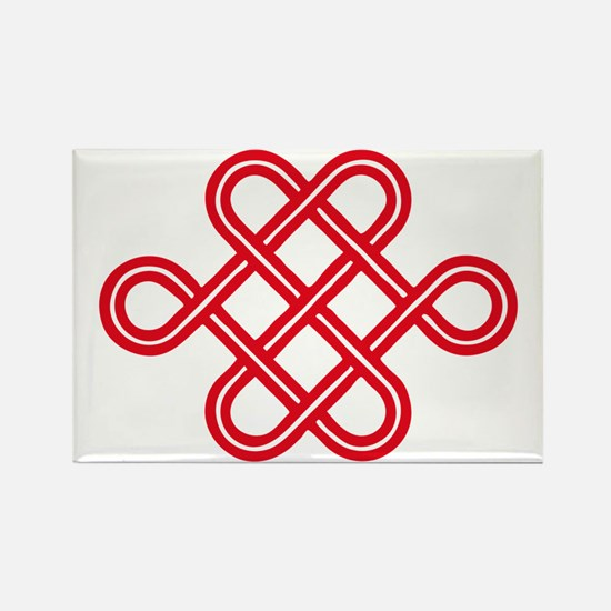 endless love knot Rectangle Magnet