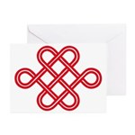endless love knot Greeting Cards (Pk of 20)