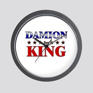DAMION for king Wall Clock