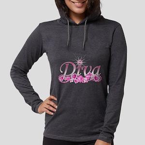 Diva Bling Long Sleeve T-Shirt