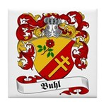 Buhl Family Crest Tile Coaster