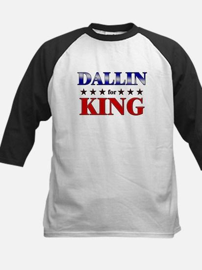 DALLIN for king Kids Baseball Jersey