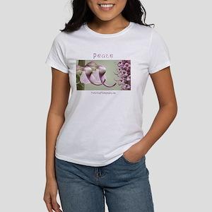 Peaceful Elephant Wildflowers Women's T-Shirt