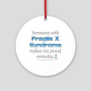 Fragile X Pride Ornament (Round)