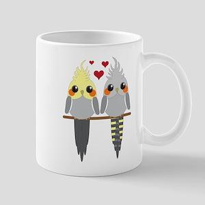 Cockatiels in Love Mugs