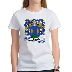 Burkhardt Family Crest Women's T-Shirt