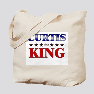 CURTIS for king Tote Bag
