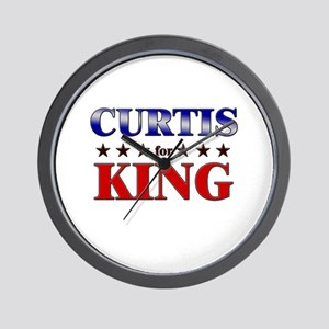 CURTIS for king Wall Clock