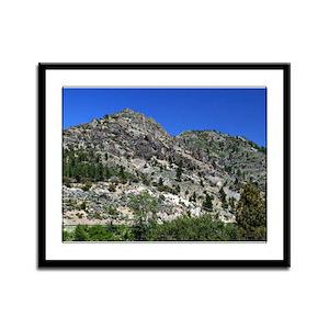 Sunny Sierras Framed Panel Print