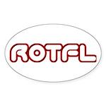 ROFL Oval Sticker