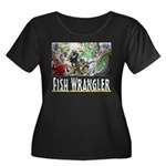 3,000 Days on Fish Wrangler Plus Size T-Shirt