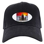 1,000 Days on Fish Wrangler Black Cap with Patch