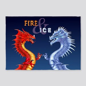 FIRE & ICE 5'x7'Area Rug