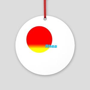 Rhea Ornament (Round)