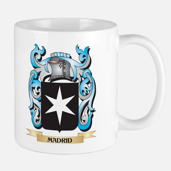 Madrid Coat of Arms - Family Crest Mugs