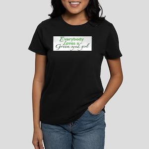 Green Eyed Girl T-Shirt