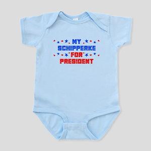 Schipperke PRESIDENT Infant Bodysuit