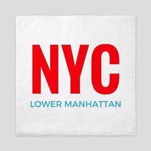 NYC Lower Manhattan Queen Duvet