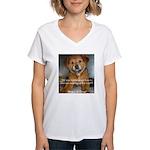 Make it Stop 5 Women's V-Neck T-Shirt