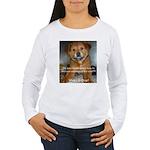 Make it Stop 5 Women's Long Sleeve T-Shirt