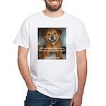 Make it Stop 5 White T-Shirt