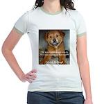 Make it Stop 5 Jr. Ringer T-Shirt